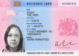 Eu Family Member Residence Card Travel